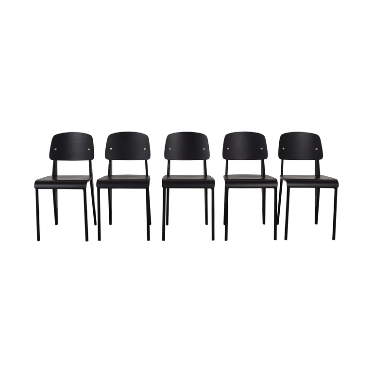 Reproduction Prouve Style Chairs on sale