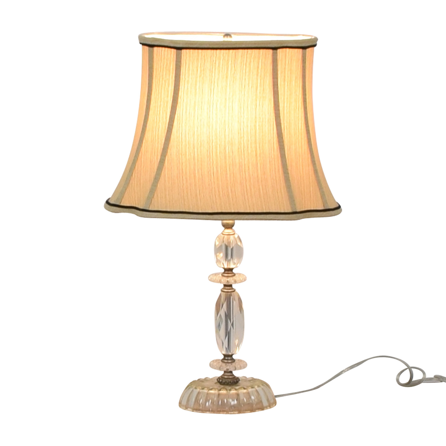 Crystal Table Lamp for sale
