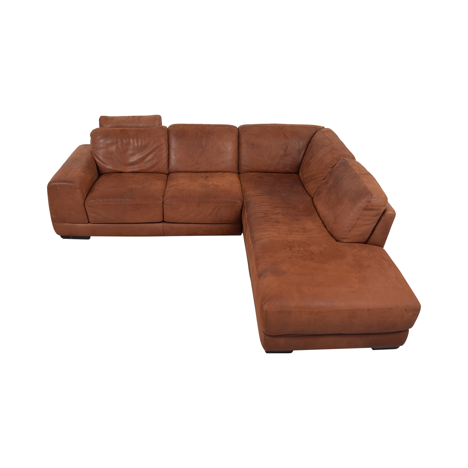 Maurice Villency Maurice Villency Marina Brown Sectional on sale