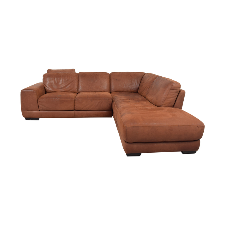 Maurice Villency Marina Brown Sectional Maurice Villency