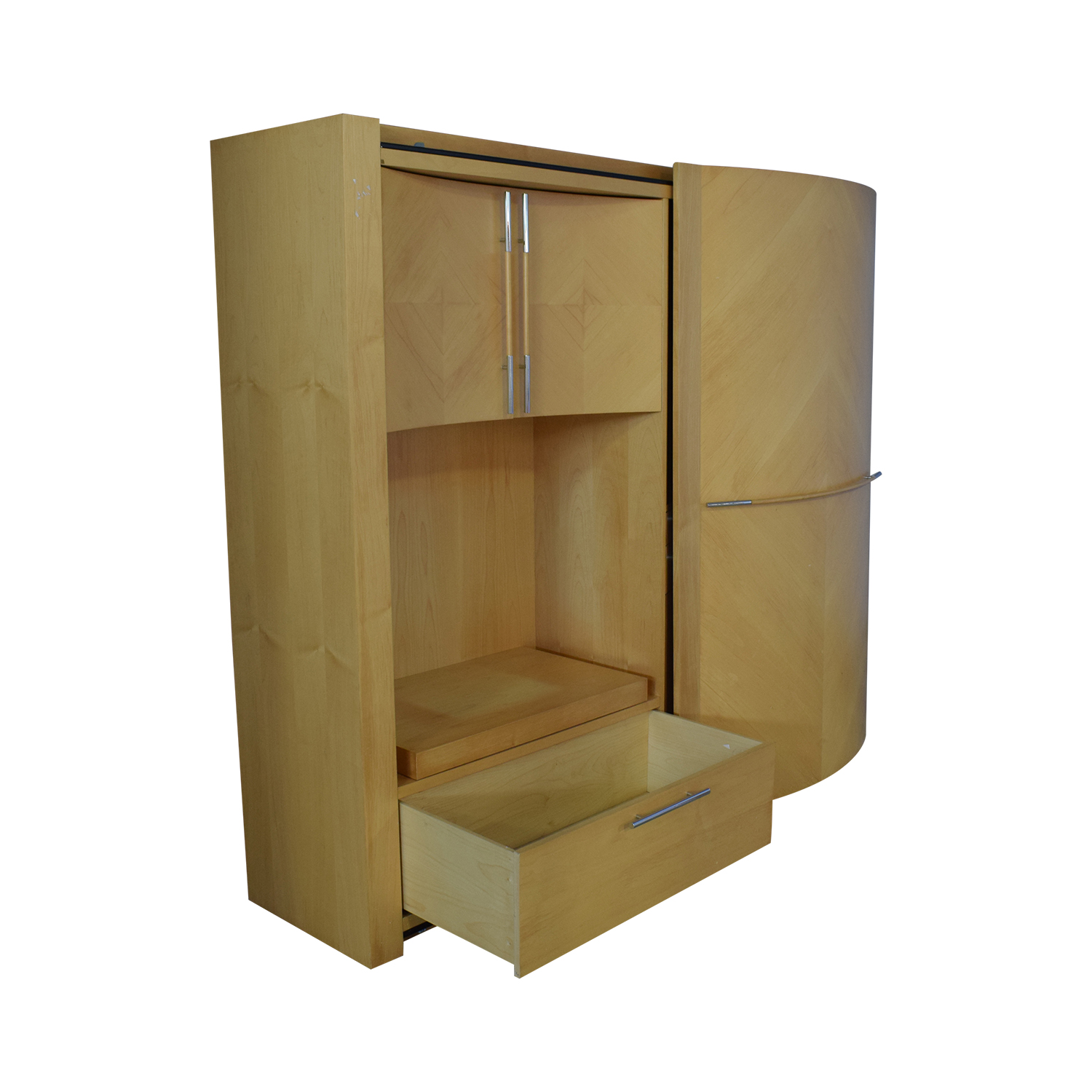 buy Maurice Villency Dual Wall Unit Maurice Villency Storage