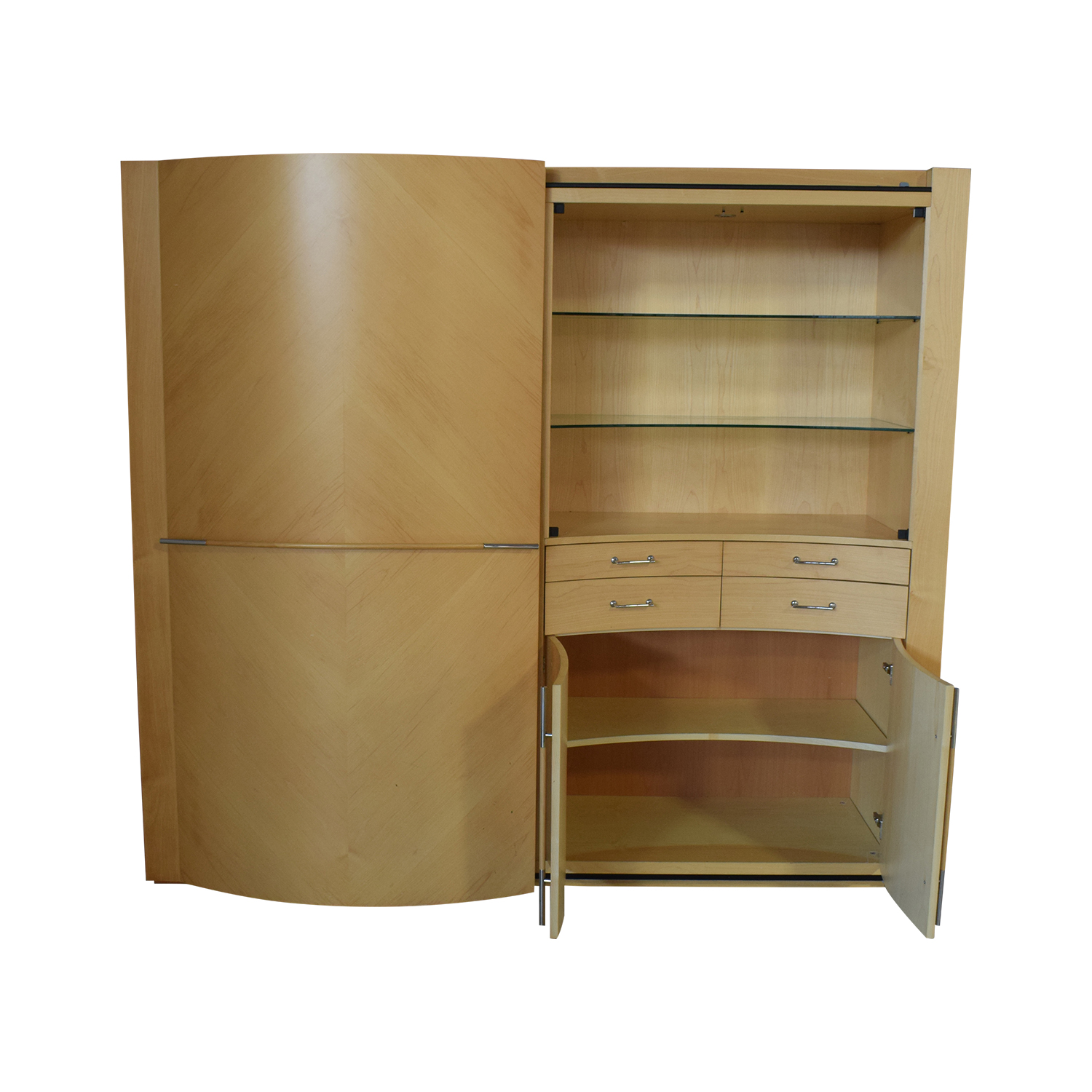 shop Maurice Villency Dual Wall Unit Maurice Villency Storage