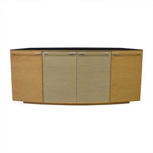 Maurice Villency Maurice Villency Ona Maple Four-Drawer Shelving Sideboard price