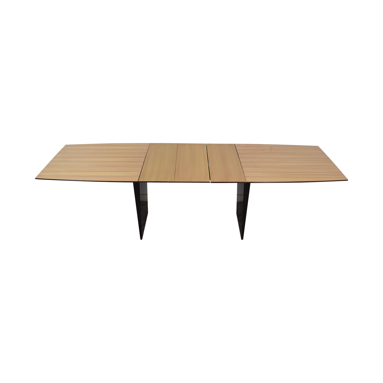 Dunbar Dunbar Edward Wormley Tawi Extendable Wood Dining Table second hand