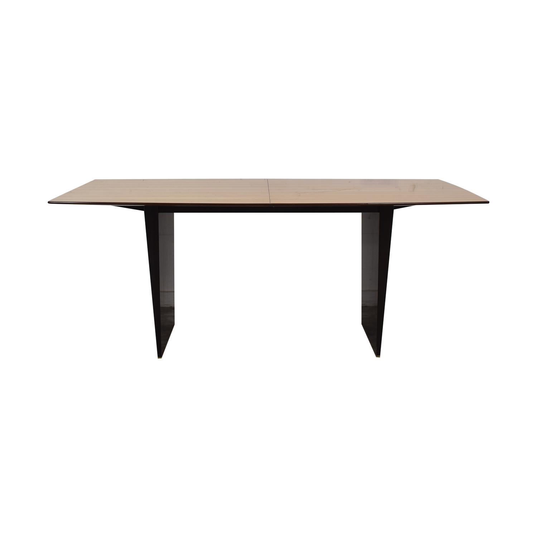Dunbar Dunbar Edward Wormley Tawi Extendable Wood Dining Table on sale