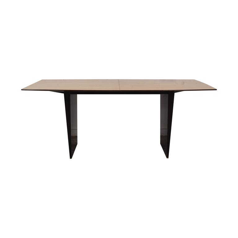 Dunbar Dunbar Edward Wormley Tawi Extendable Wood Dining Table nj