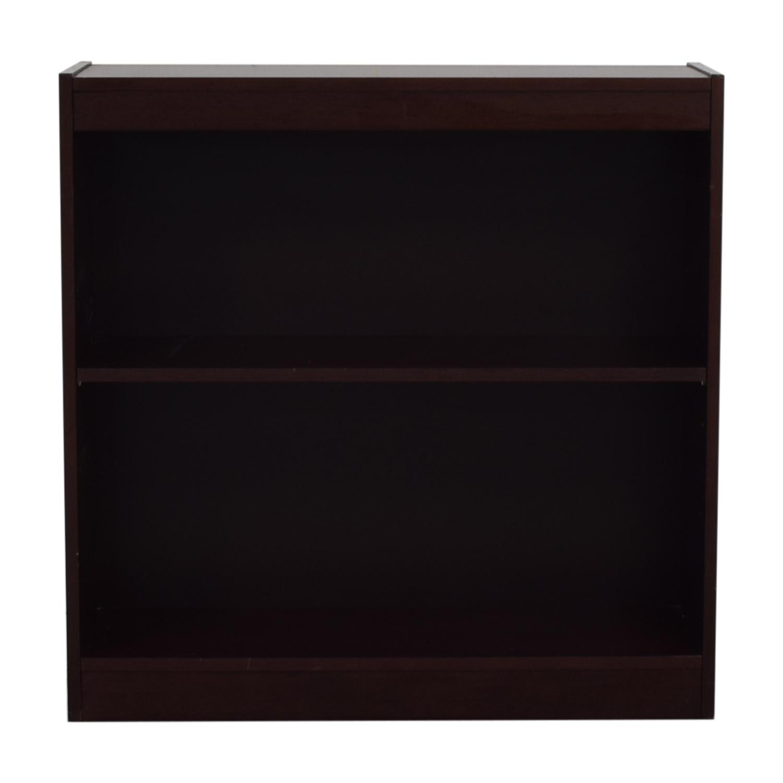 shop Custom Two Shelf Bookshelf