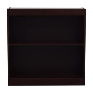 Custom Two Shelf Bookshelf nyc