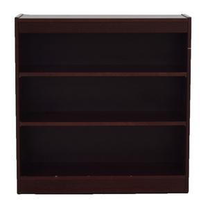 buy Custom Three Shelf Bookshelf