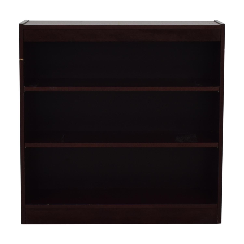 Custom Woodwind Bookshelf Storage