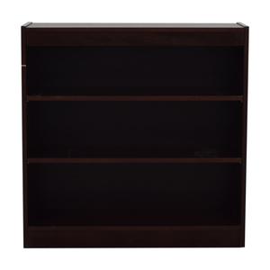 shop Custom Three Shelf Bookshelf  Storage