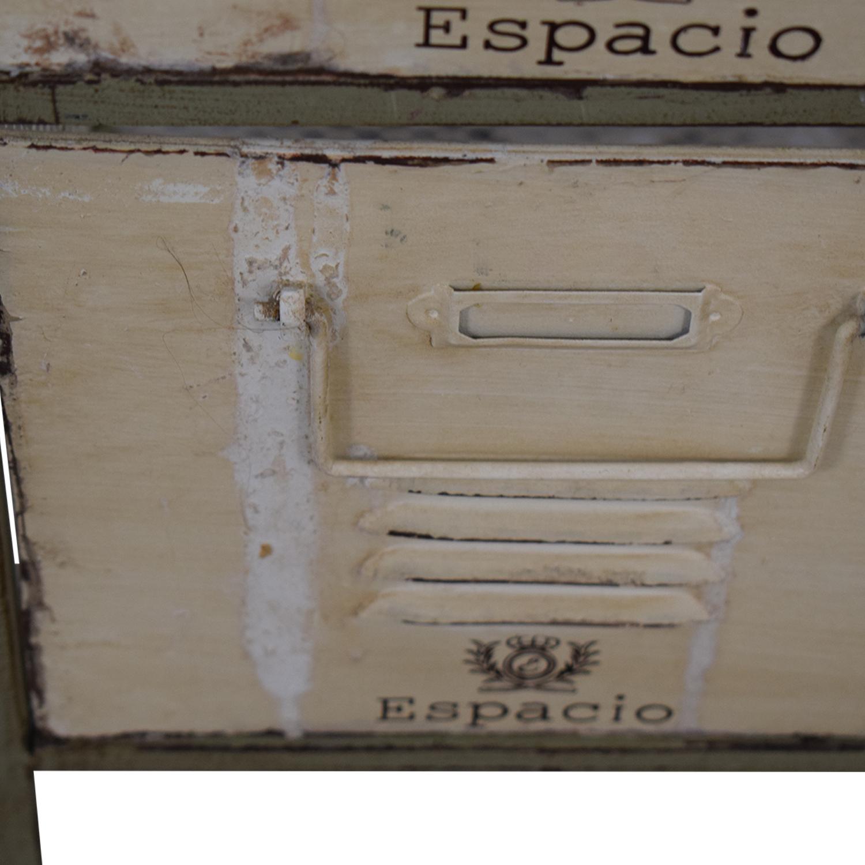 buy Vintage Bespoke Metal Drawers  Filing & Bins