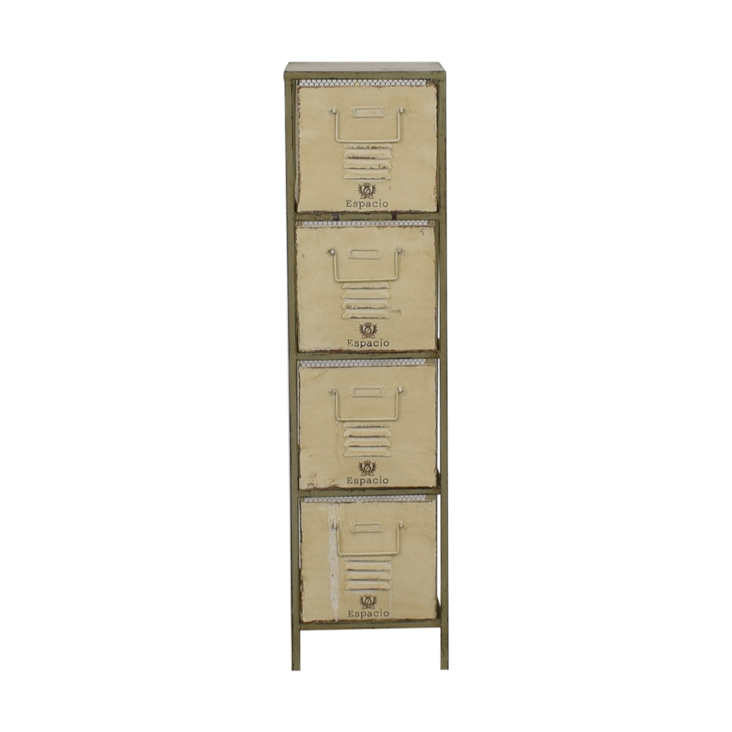 buy Vintage Bespoke Metal Drawers