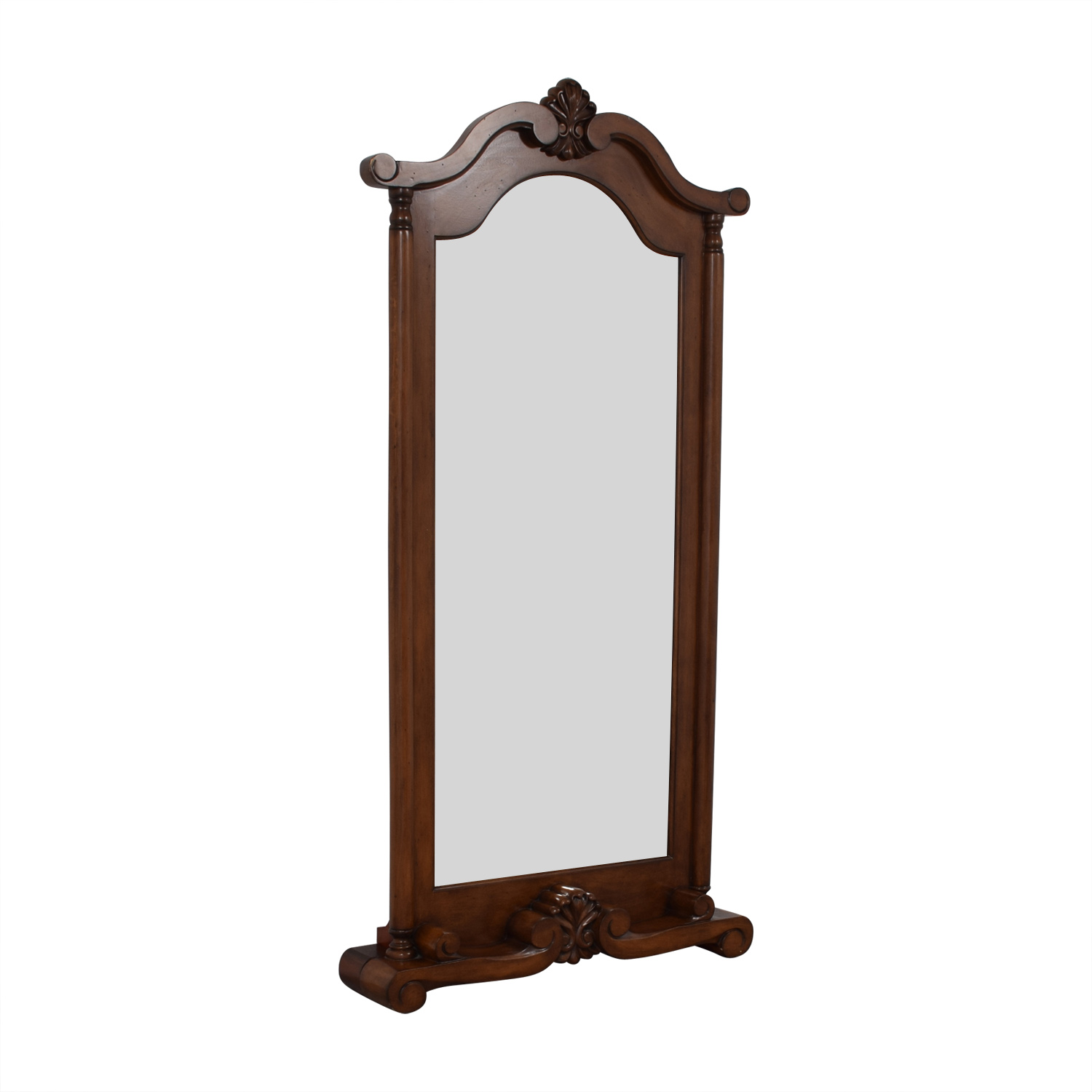 Coaster Coaster Carved Wood Framed Floor Mirror Mirrors