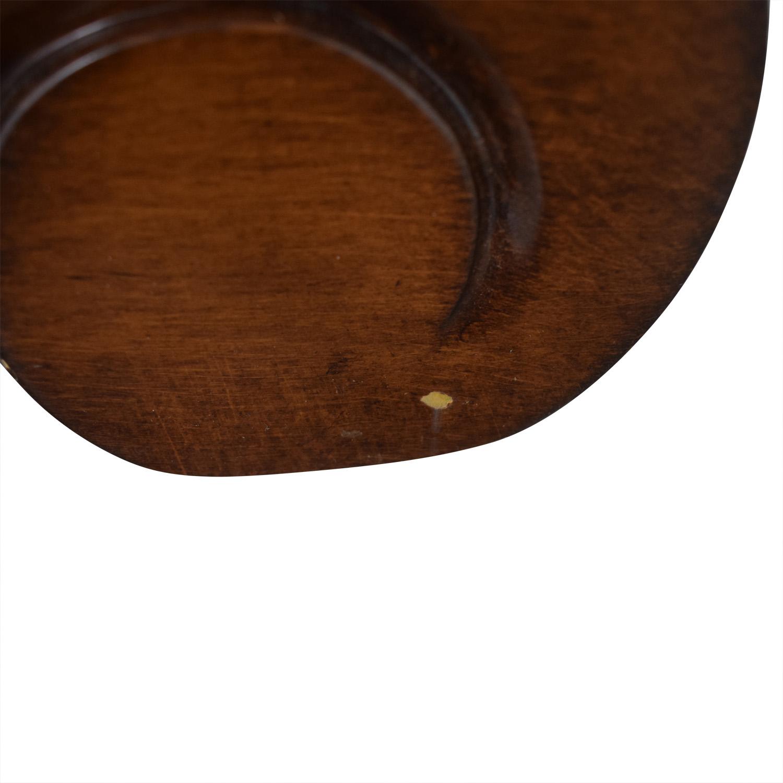 Coaster Carved Wood Framed Floor Mirror / Decor