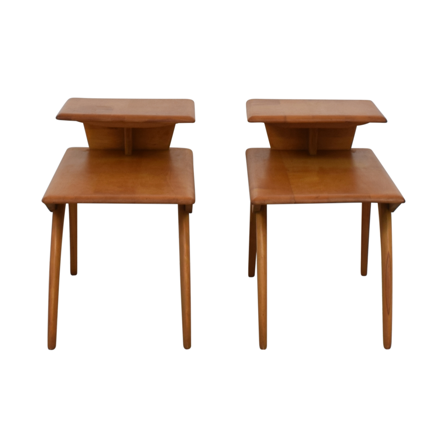 Heywood Wakefield Wood End Tables / End Tables