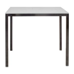 White Glass Dining Table sale