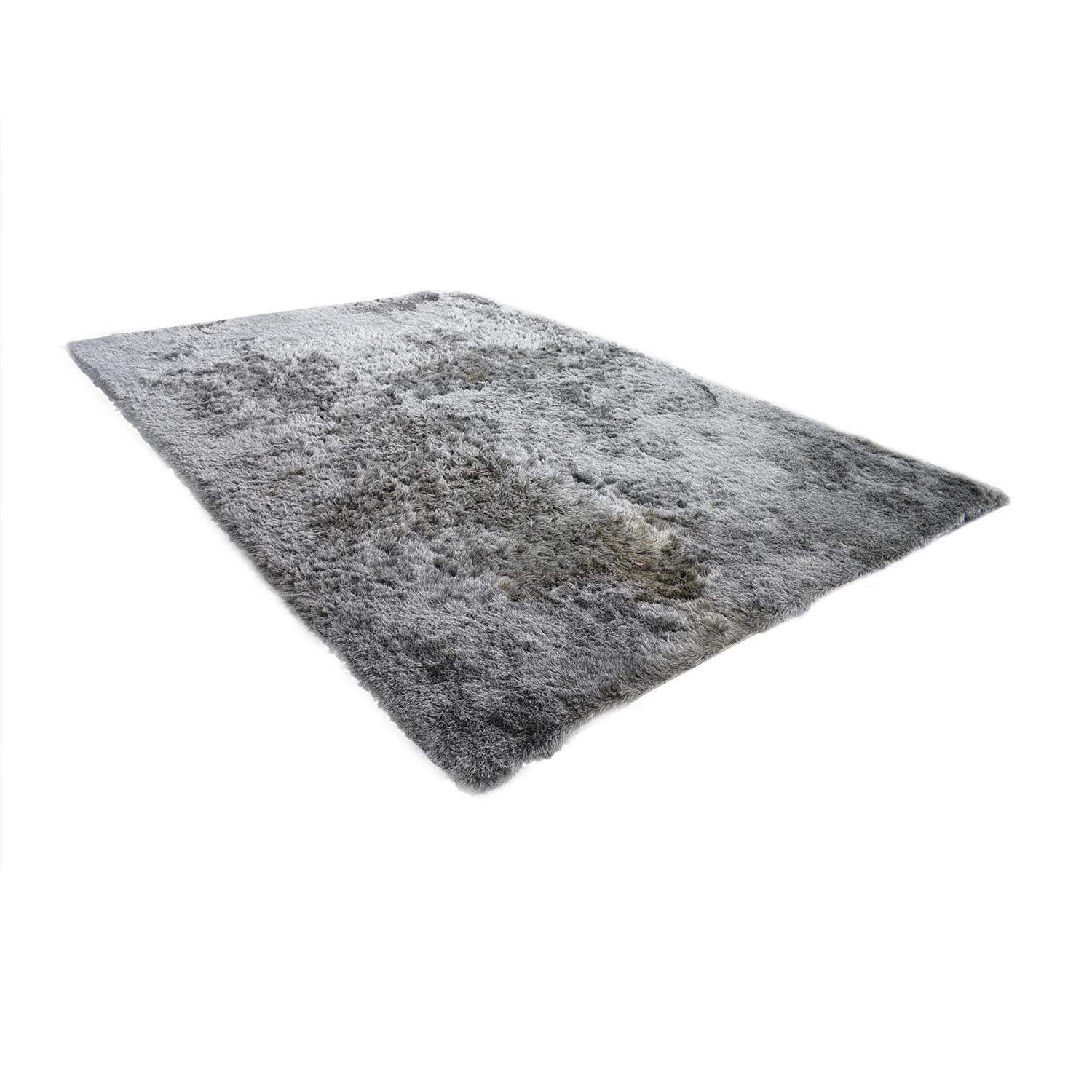 Safavieh Safavieh Silken Glam Paris Shag Silver Rug for sale