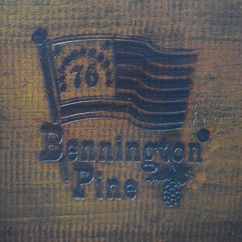 shop Benjamin Pine Short Four Poster Queen Bed Frame Bennington Pine Bed Frames