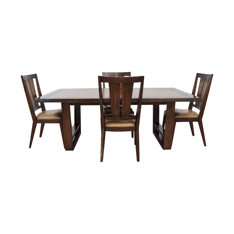 Bernhardt Wood Dining Set sale