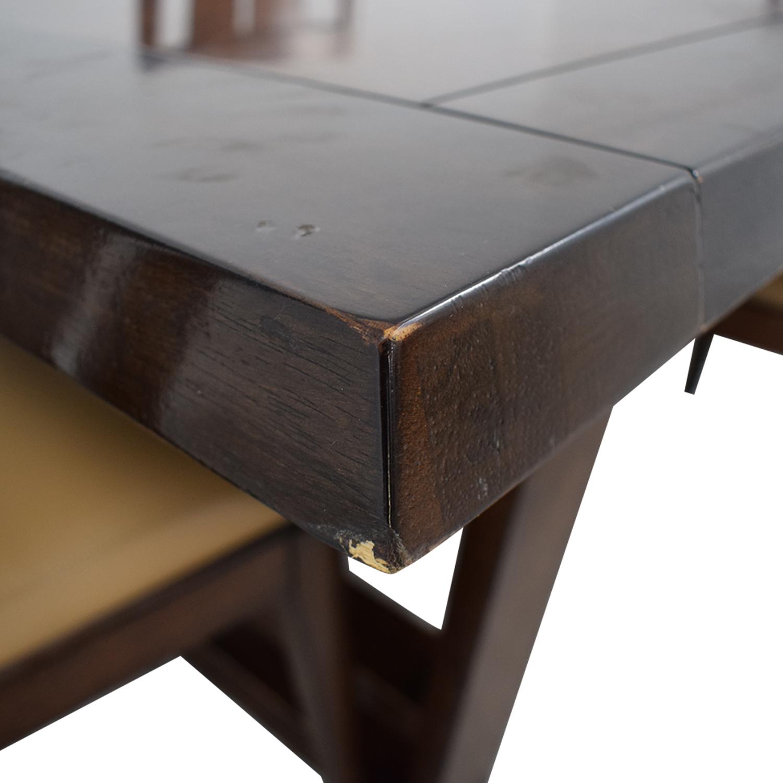 Bernhardt Bernhardt Wood Dining Set Tables
