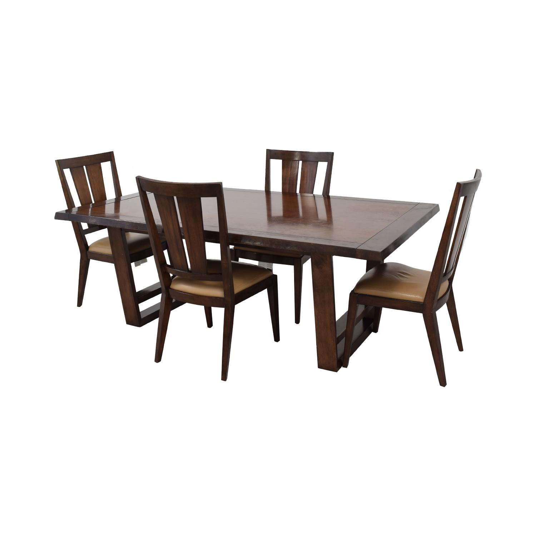 shop Bernhardt Wood Dining Set Bernhardt Tables