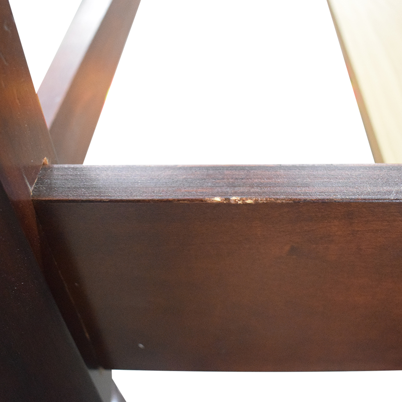 Lexington Furniture Lexington Furniture Wood Four Poster Queen Bedframe dimensions