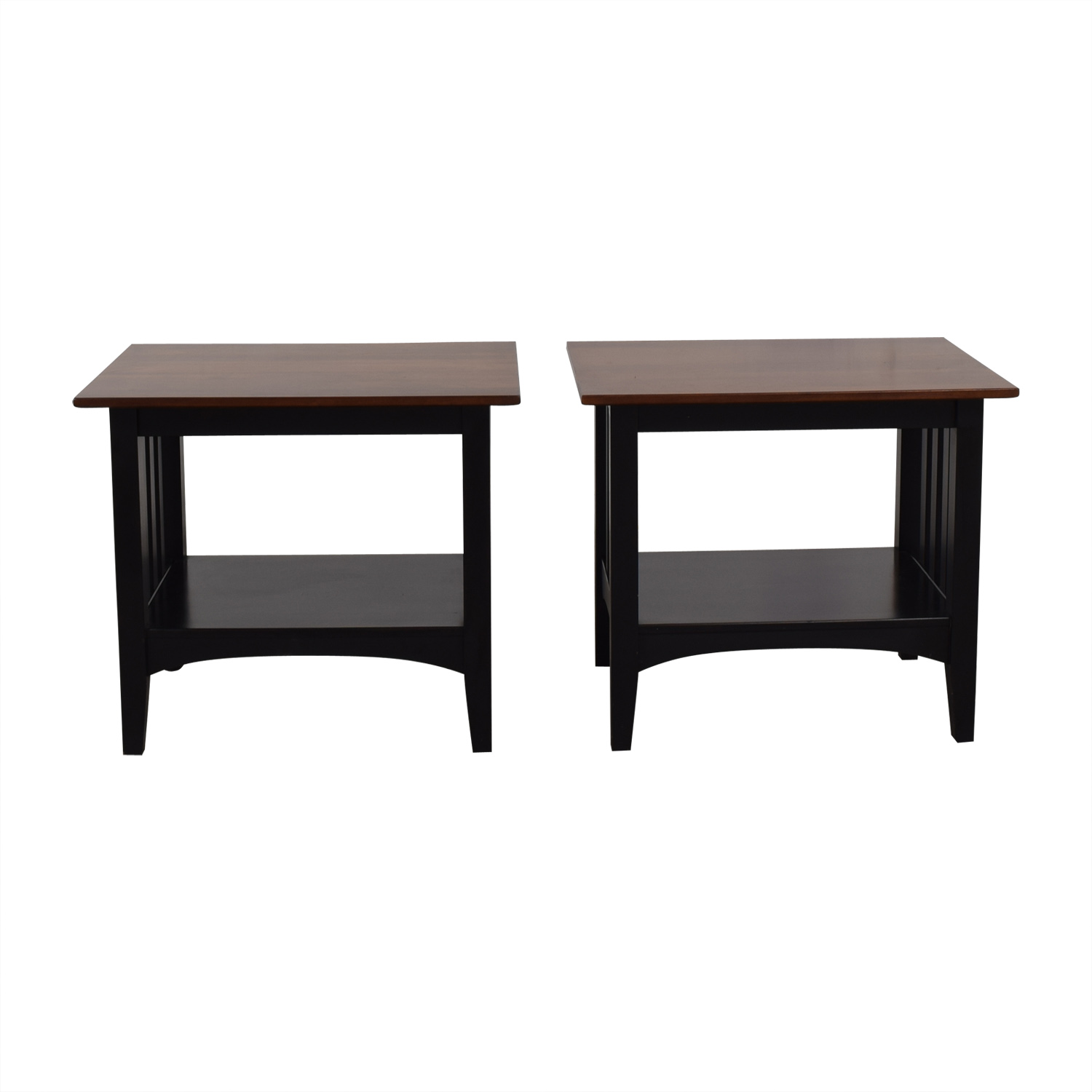 Ethan Allen Ethan Allen American Collection End Tables dimensions