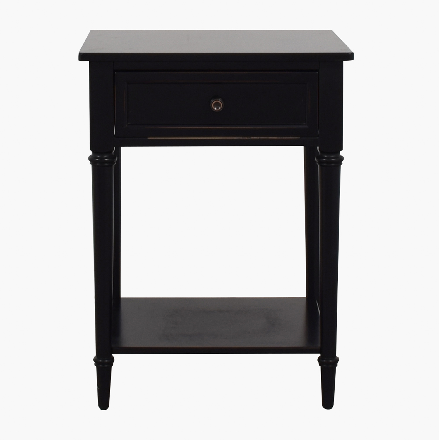 shop Pottery Barn Pottery Barn Black End Table online