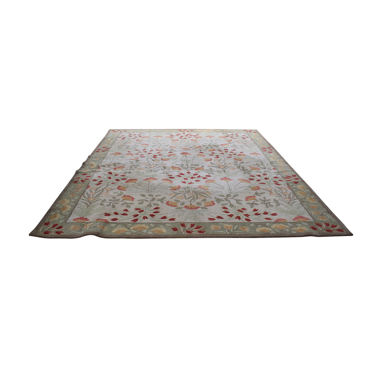 buy Pottery Barn Floral Rug with Pad Pottery Barn Decor