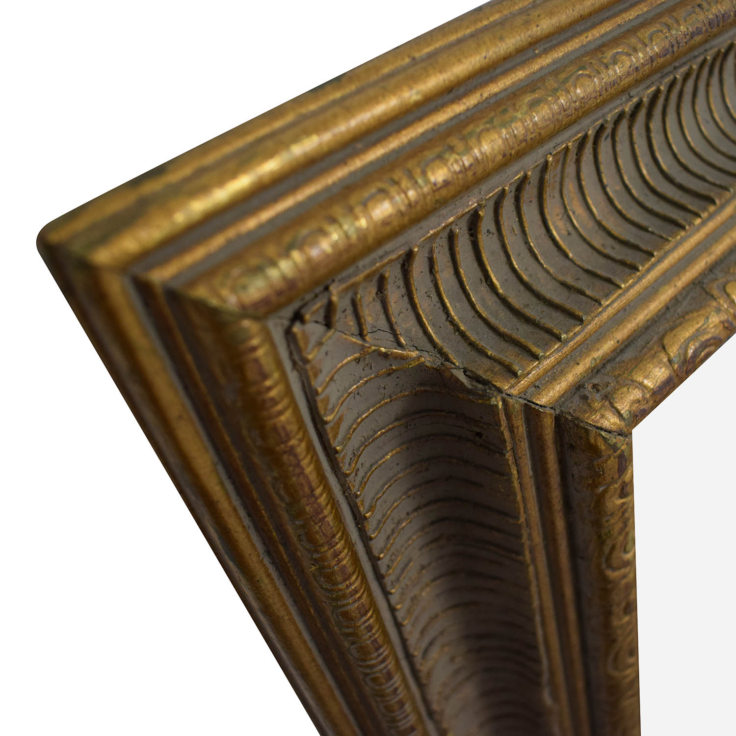 Pottery Barn Pottery Barn Gold Frame Wall Mirror second hand