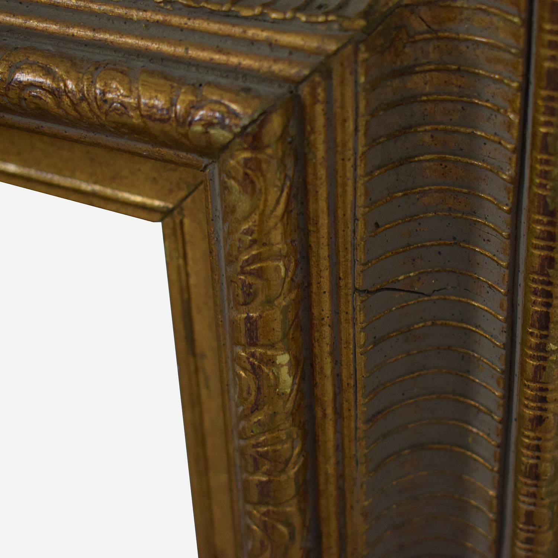 Pottery Barn Pottery Barn Gold Frame Wall Mirror used