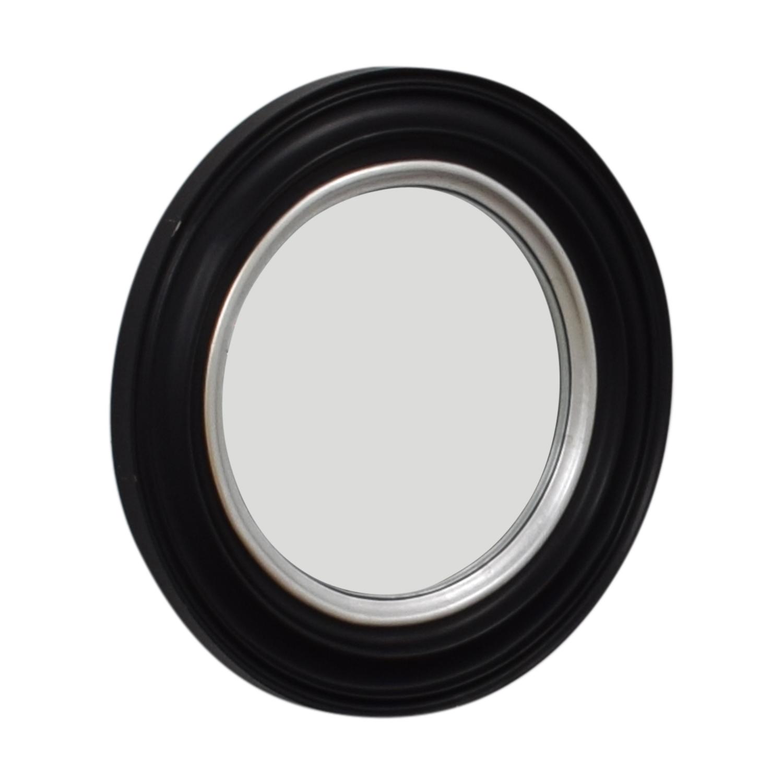 Ballard Design Ballard Design Bullseye Round Black Wall Mirror coupon