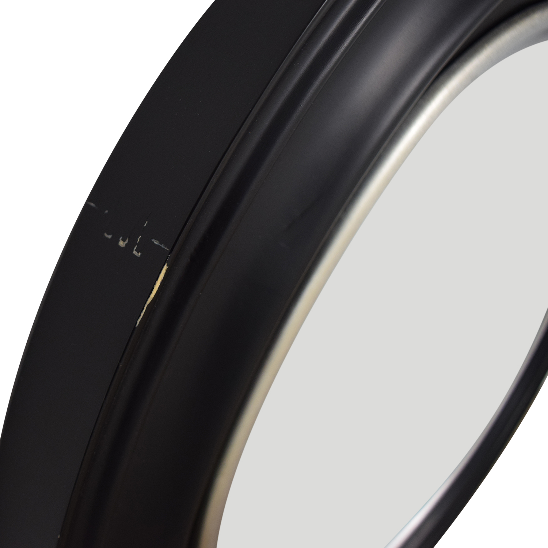 Ballard Design Ballard Design Bullseye Round Black Wall Mirror