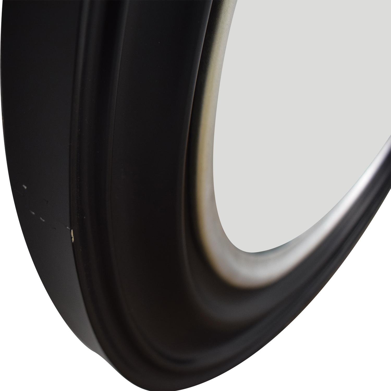 Ballard Design Ballard Design Bullseye Round Black Wall Mirror nyc