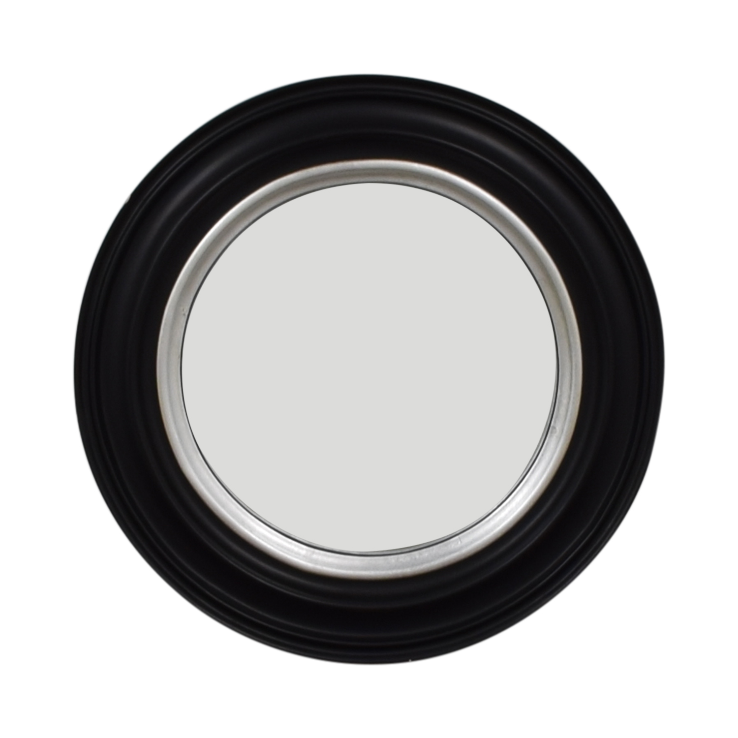 buy Ballard Design Bullseye Round Black Wall Mirror Ballard Design Mirrors