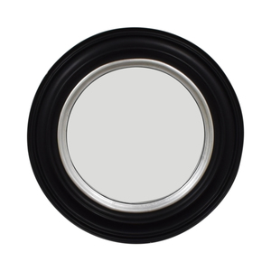 buy Ballard Design Bullseye Round Black Wall Mirror Ballard Design