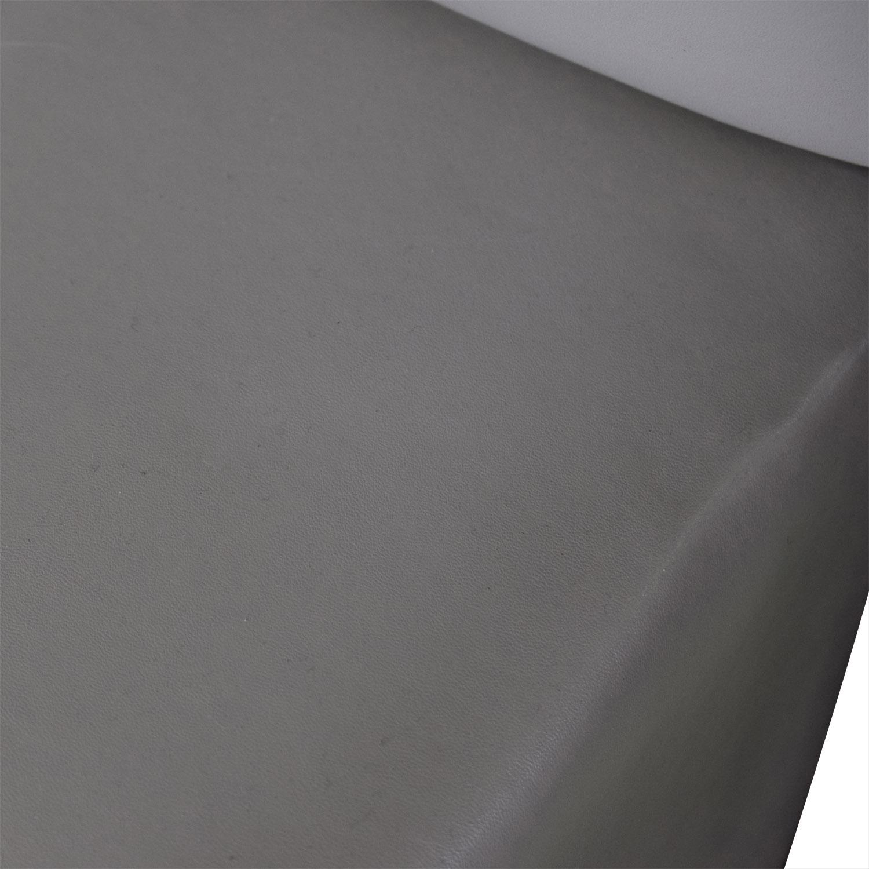 buy Modloft Ludlow Grey Tufted Platform King Bed Frame Modloft Bed Frames