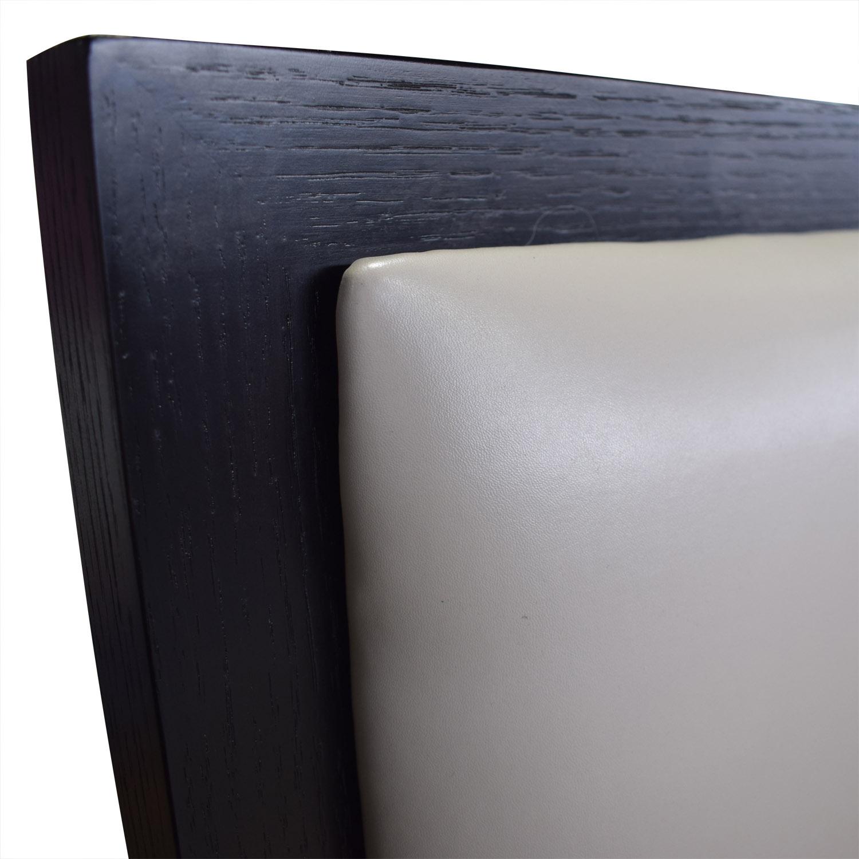 Modloft Modloft Ludlow Grey Tufted Platform King Bed Frame nyc