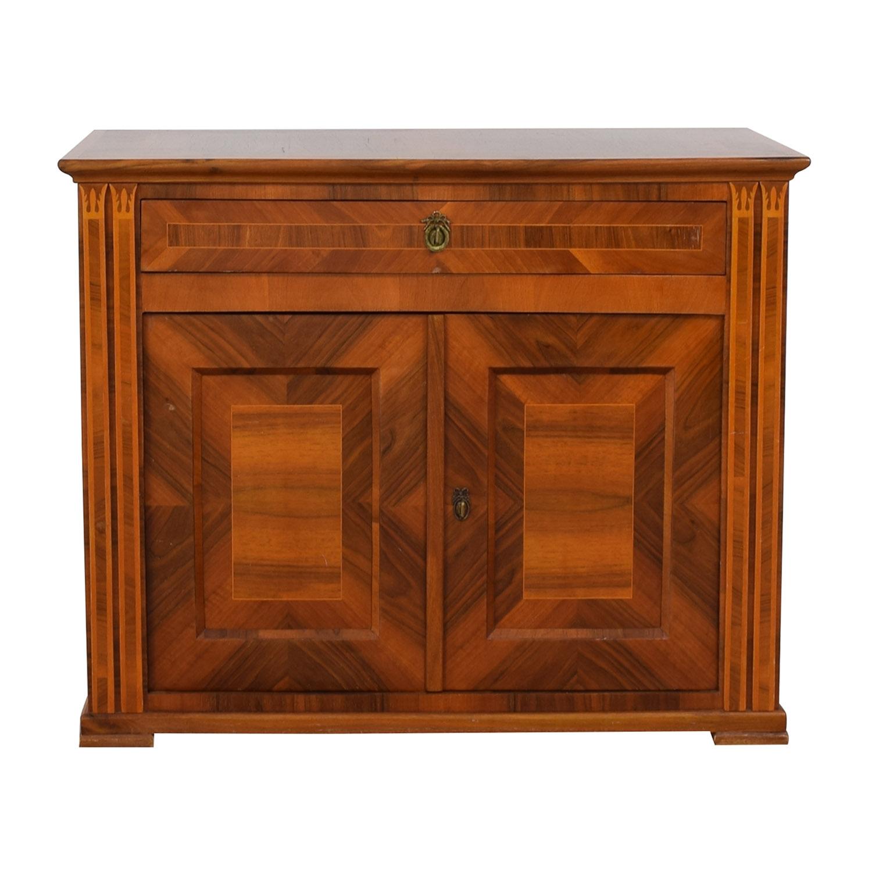 buy Antique Wood Single Drawer Hutch