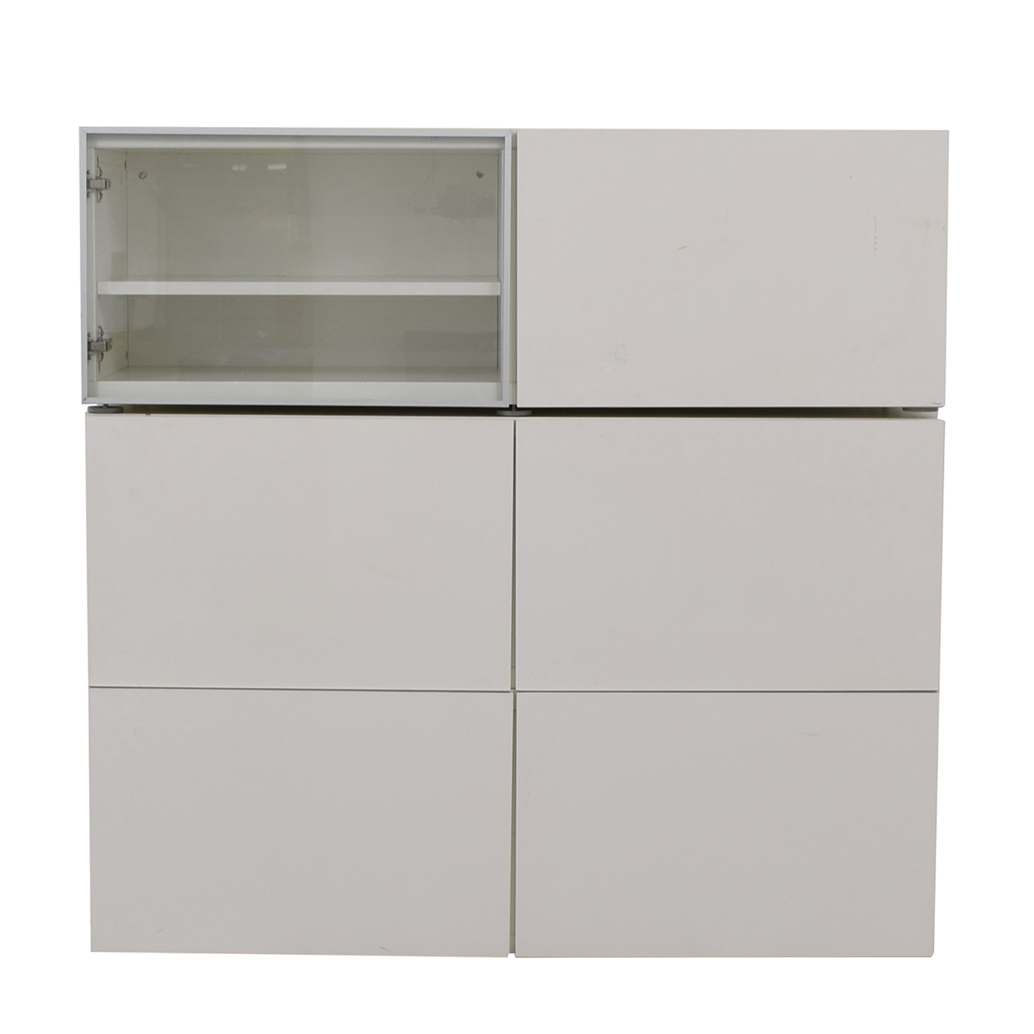 White TV Storage Cabinet