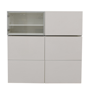 White TV Storage Cabinet second hand