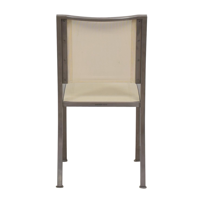 West Elm West Elm Cream and Chrome Chair