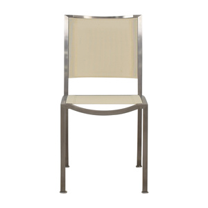 West Elm West Elm Cream and Chrome Chair Chairs