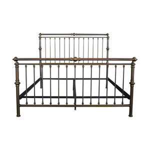buy Charles P. Rogers Brass Sleigh King Bed Frame Charles P. Rogers Beds