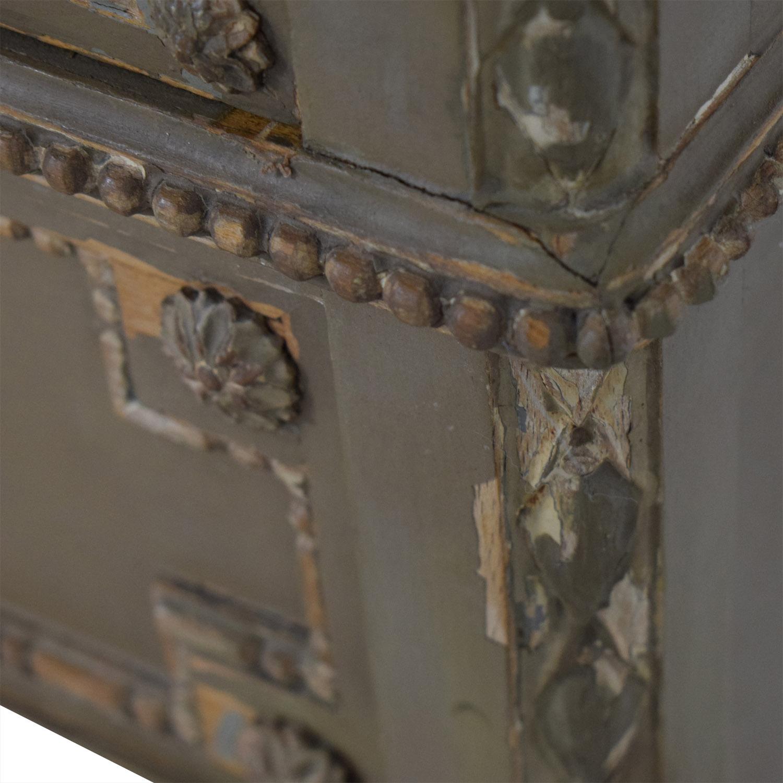 ABC Carpet & Home ABC Carpet & Home Antique Four-Drawer Dresser with Mirror price