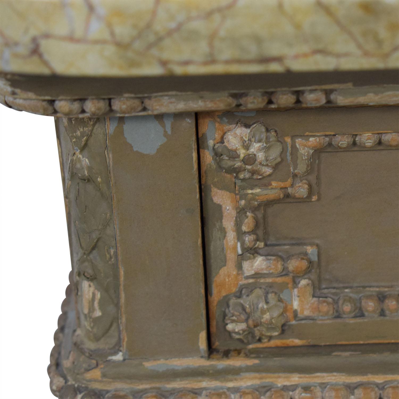 ABC Carpet & Home ABC Carpet & Home Antique Four-Drawer Dresser with Mirror nj
