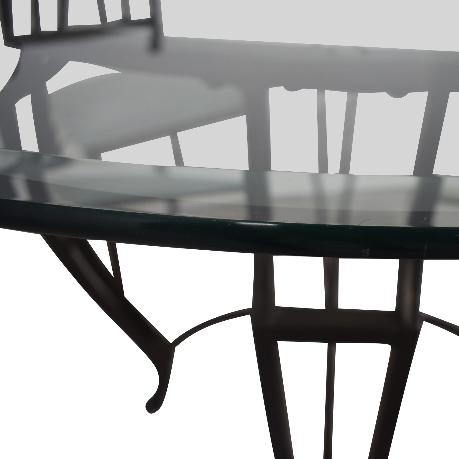 Round Glass Dining Set Dining Sets