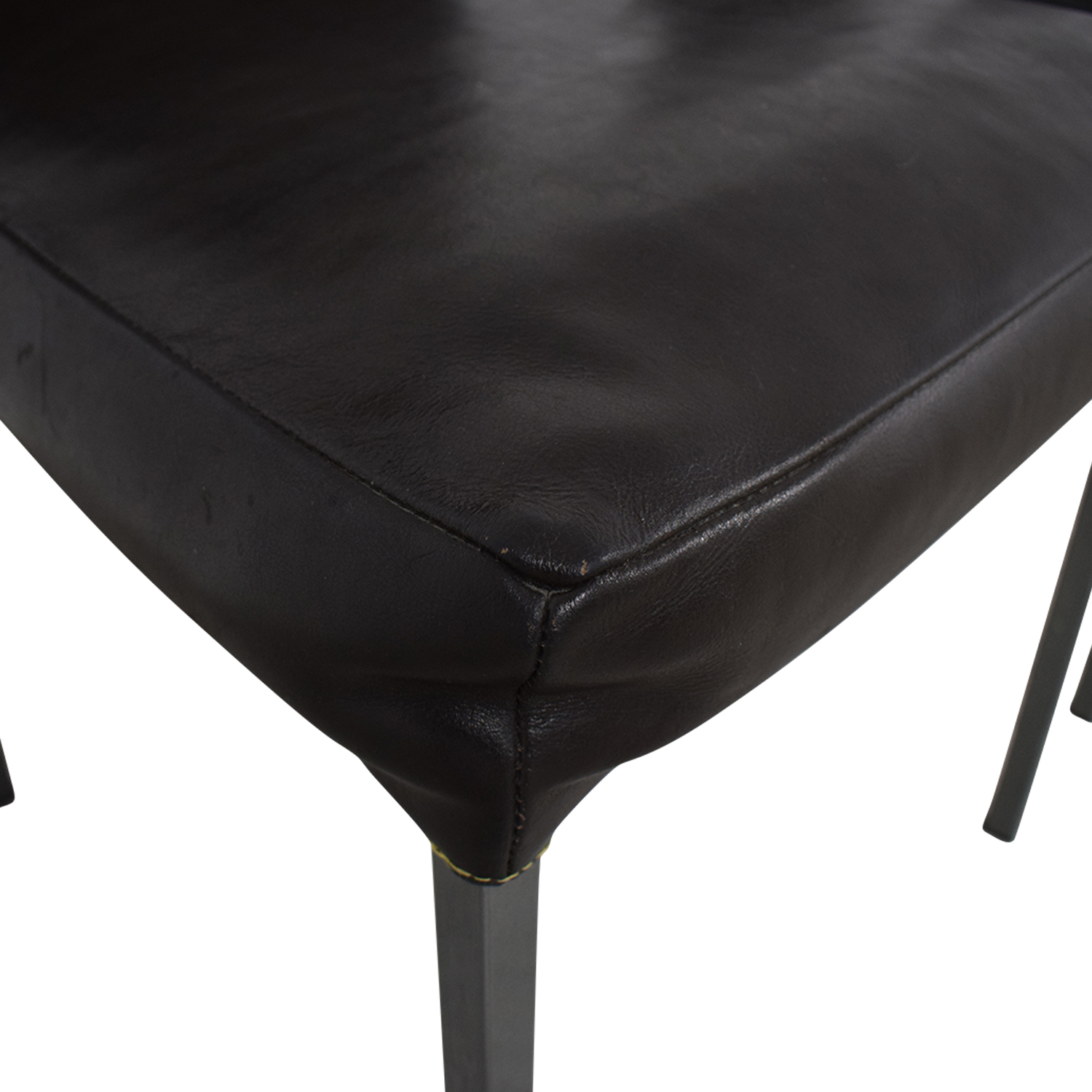 buy Design Within Reach KFF Leather Dining Chairs Design Within Reach