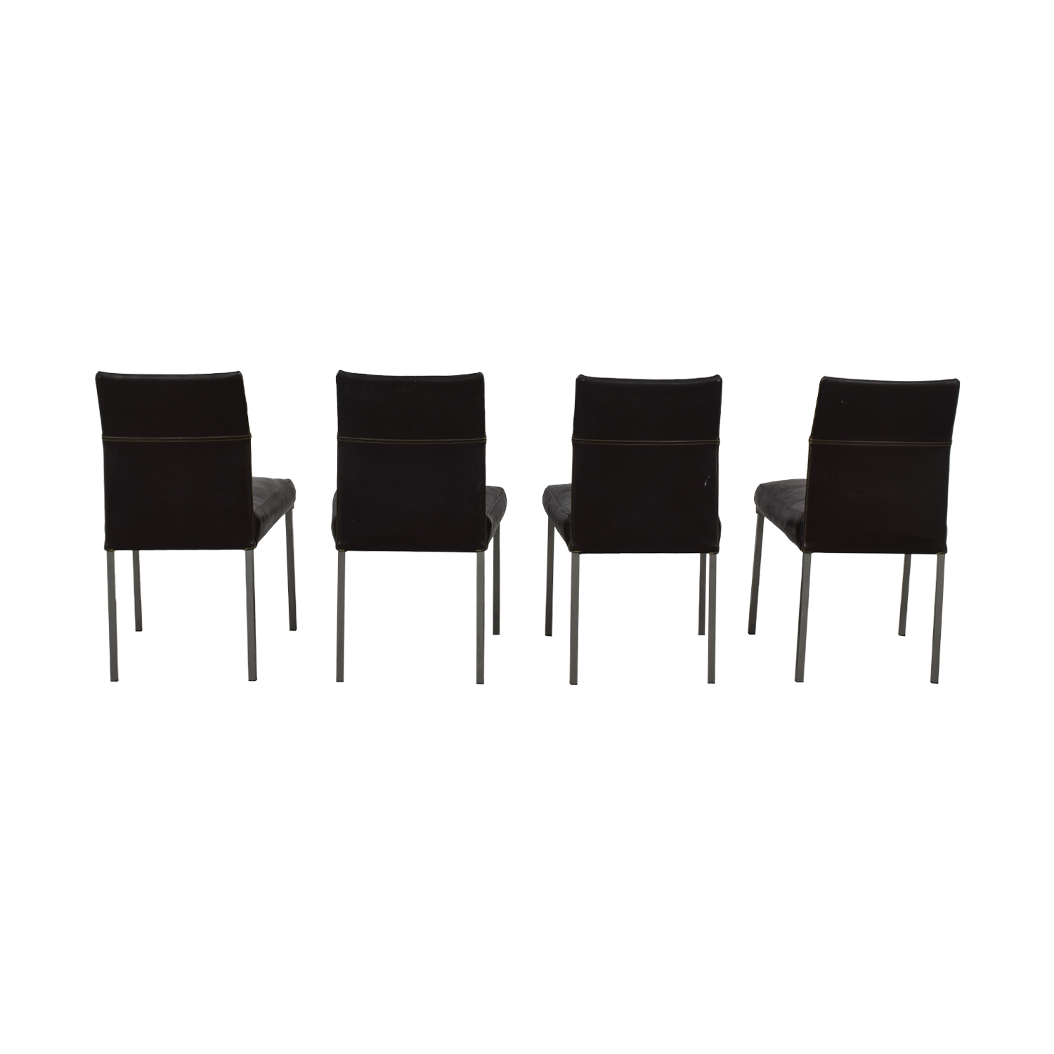 buy Design Within Reach Design Within Reach KFF Leather Dining Chairs online